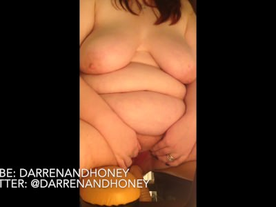 Bbw Huge Baps & Stomach On Poking Gadget